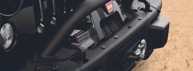 Jeep Accessories - Winch Kit