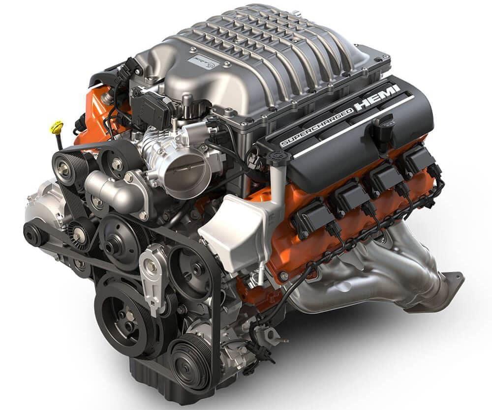 2018 Dodge Challenger Hemi Engine