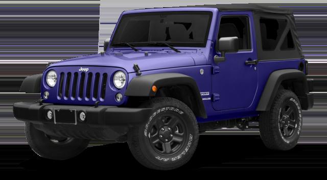 2018 Jeep Wrangler Blue