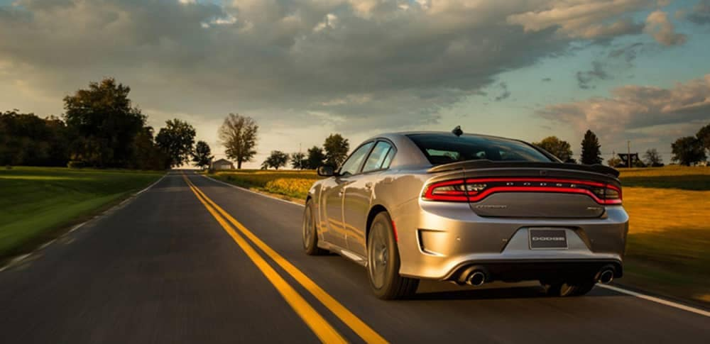 2018 Dodge Charger Rear