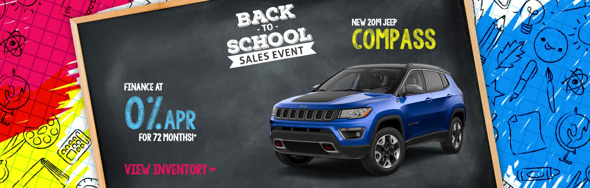 Finance a Jeep Compass for 0% in Crawfordsville, Indiana