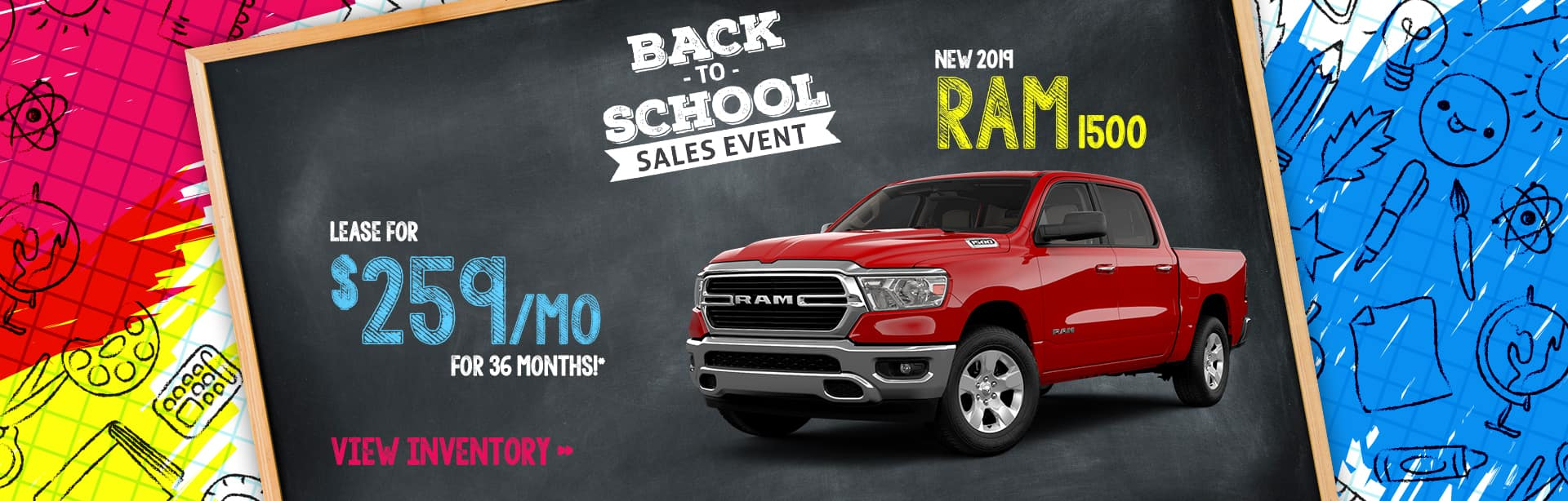 Lease Special on a New Ram 1500 near Greencastle, Indiana