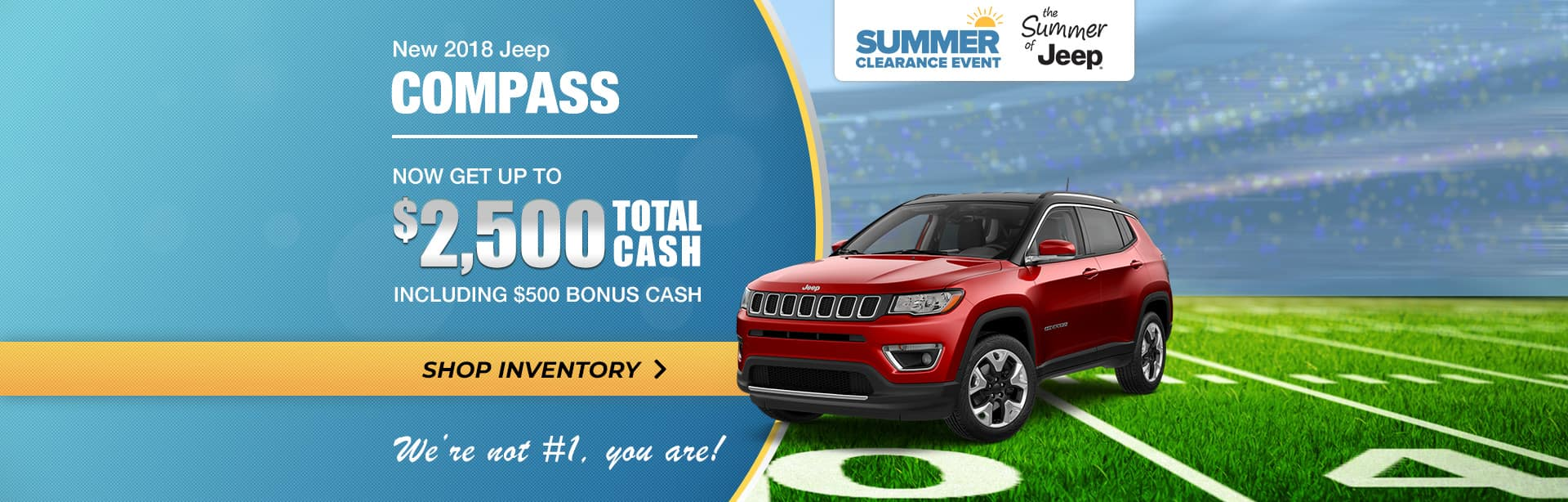 2018 Jeep Compass Special Pricing near Lafayette, Indiana