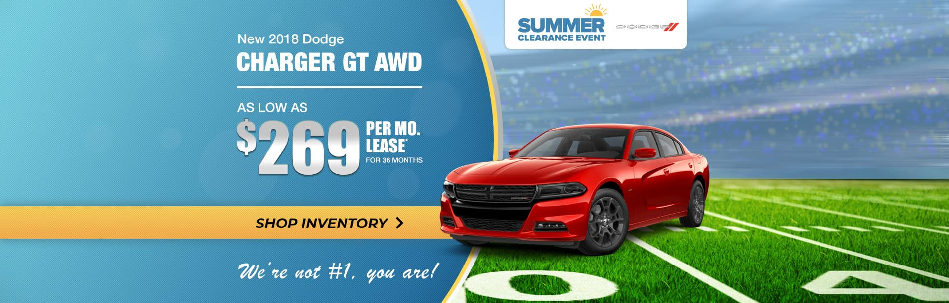 2018 Dodge Charger Summer Clearance near Lafayette, Indiana.