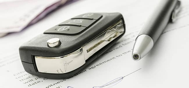 Car Key and Documents