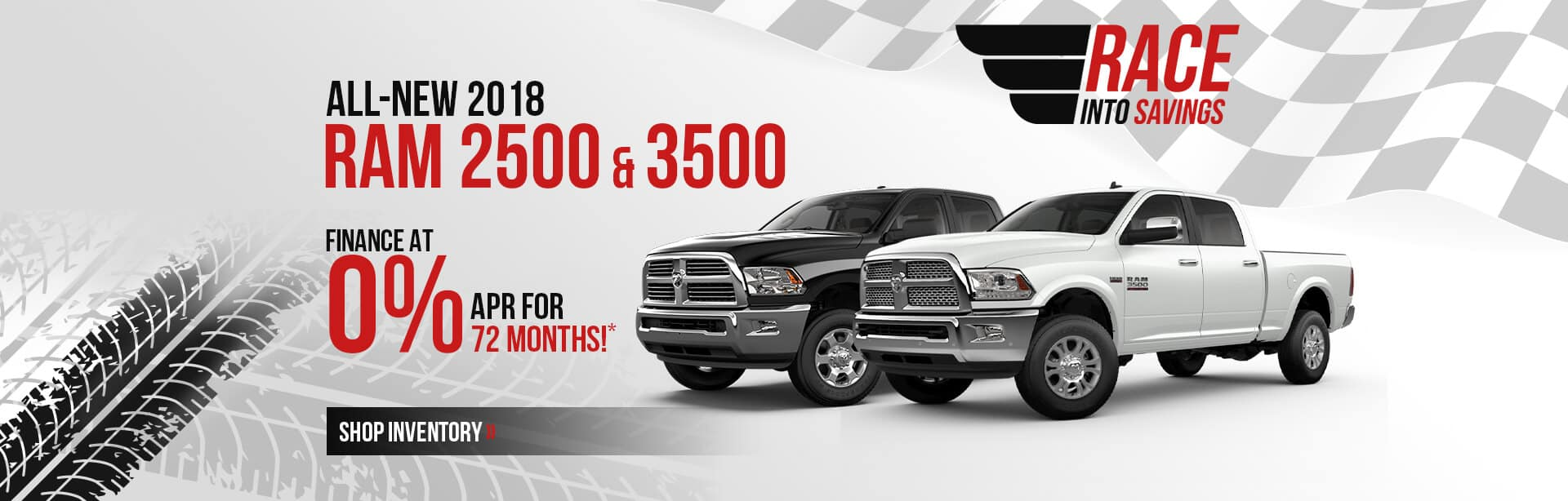 Finance a New RAM 2500 & 3500 Trucks at 0% for 72 months near Lafayette, IN.