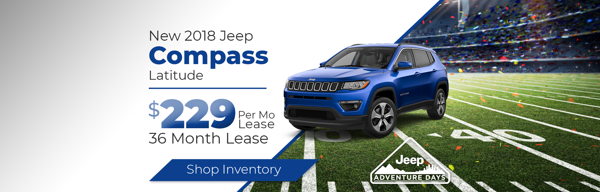 2018 Jeep Compass Lease Special Near Crawfordsville, Indiana