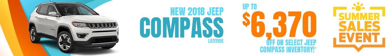 Jeep Compass inventory near Danville, Illinois.