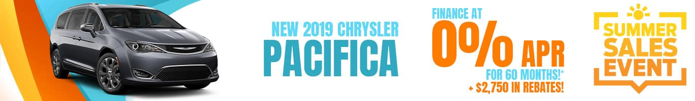 New Chrysler Pacifica Inventory in Crawfordsville, Indiana.