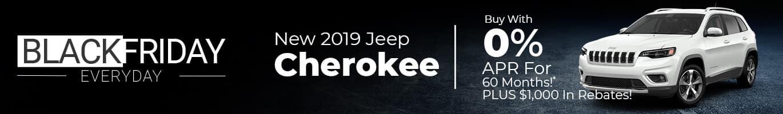 2019 JEEP Cherokee Inventory near Indianapolis, Indiana