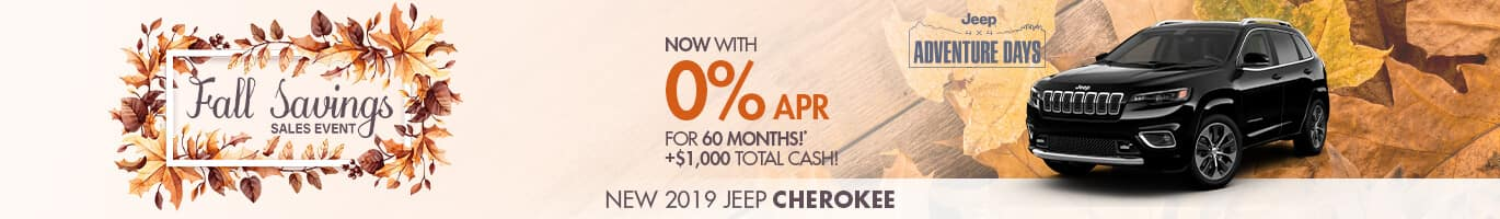 New Jeep Cherokee Inventory in Crawfordsville. Indiana