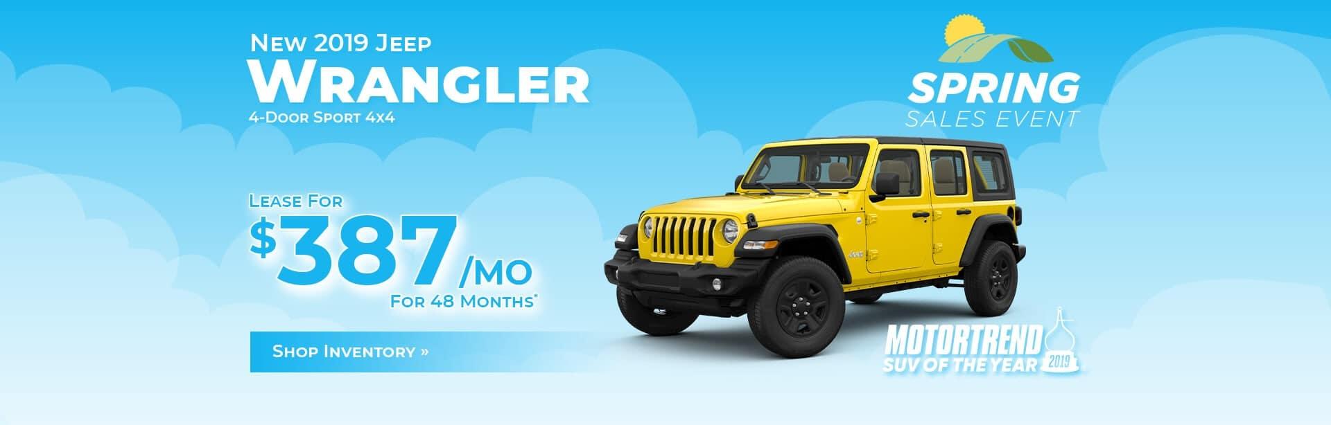 Jeep Wrangler Dealer near West Lafayette, Indiana.