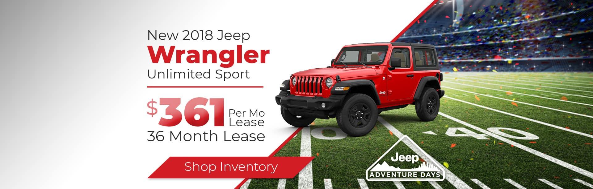 2018 Jeep Wrangler near Lafayette, Indiana
