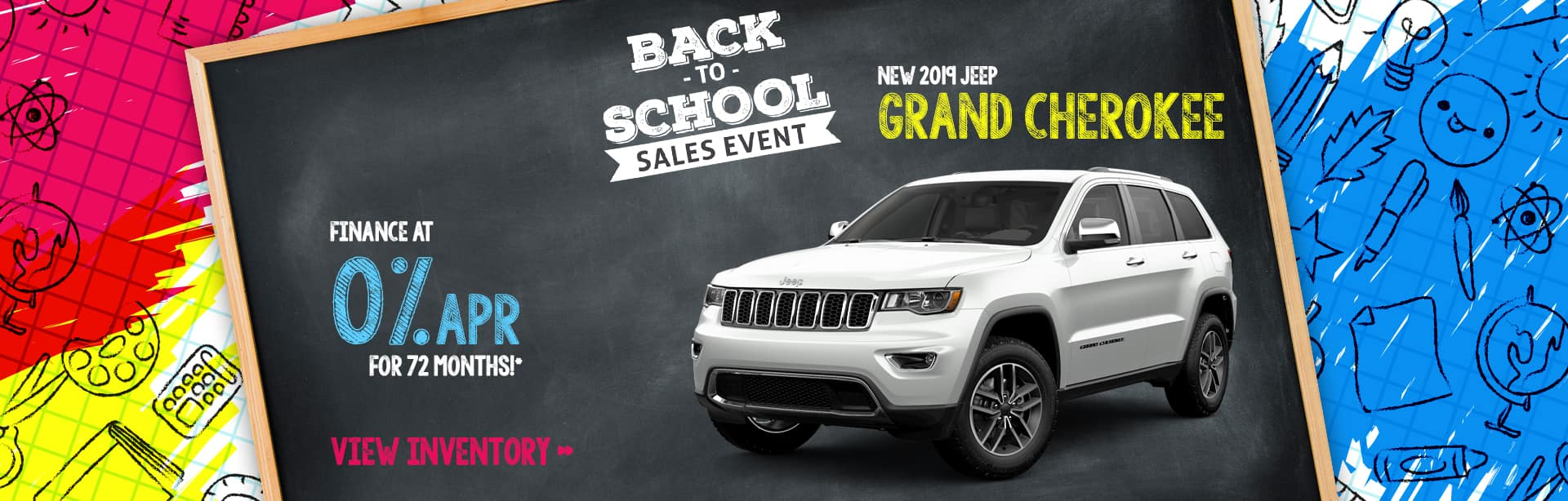 Finance a 2019 Jeep Grand Cherokee for 0% near Lafayette, Indiana