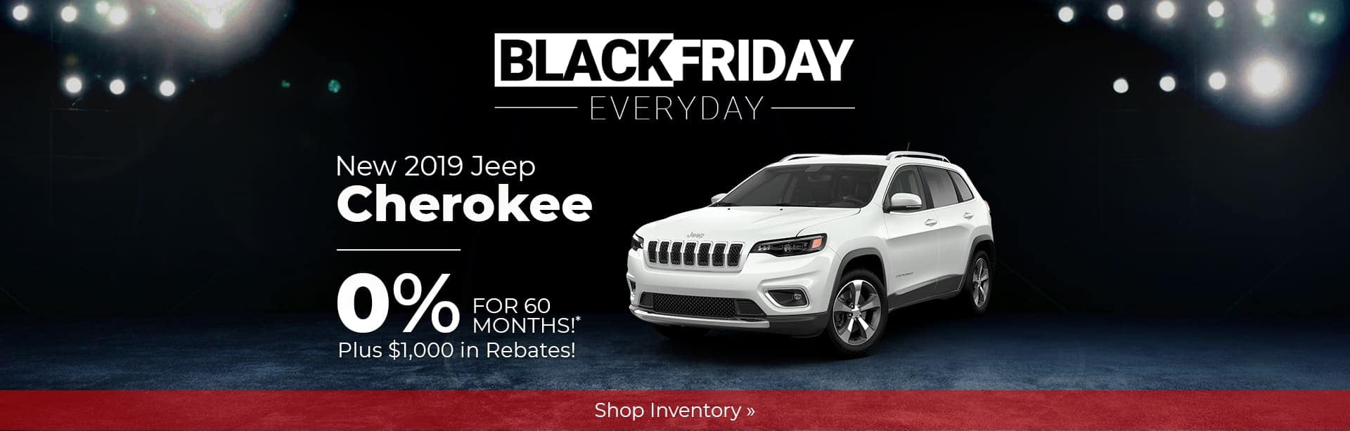 2019 Jeep Cherokee Black Friday Deal Indianapolis