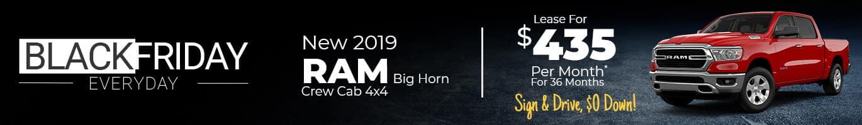 2019 RAM 1500 Big Horn Truck near Lafayette, Indiana.