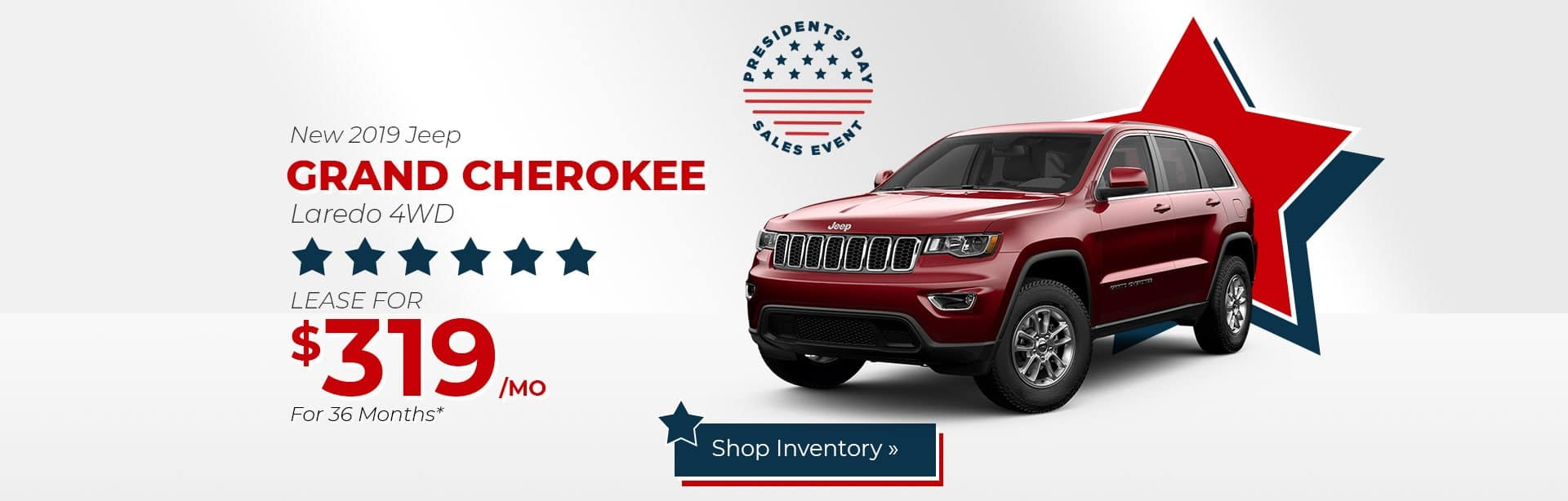 Jeep Grand Cherokee Lease Deal near Lafayette, Indiana.