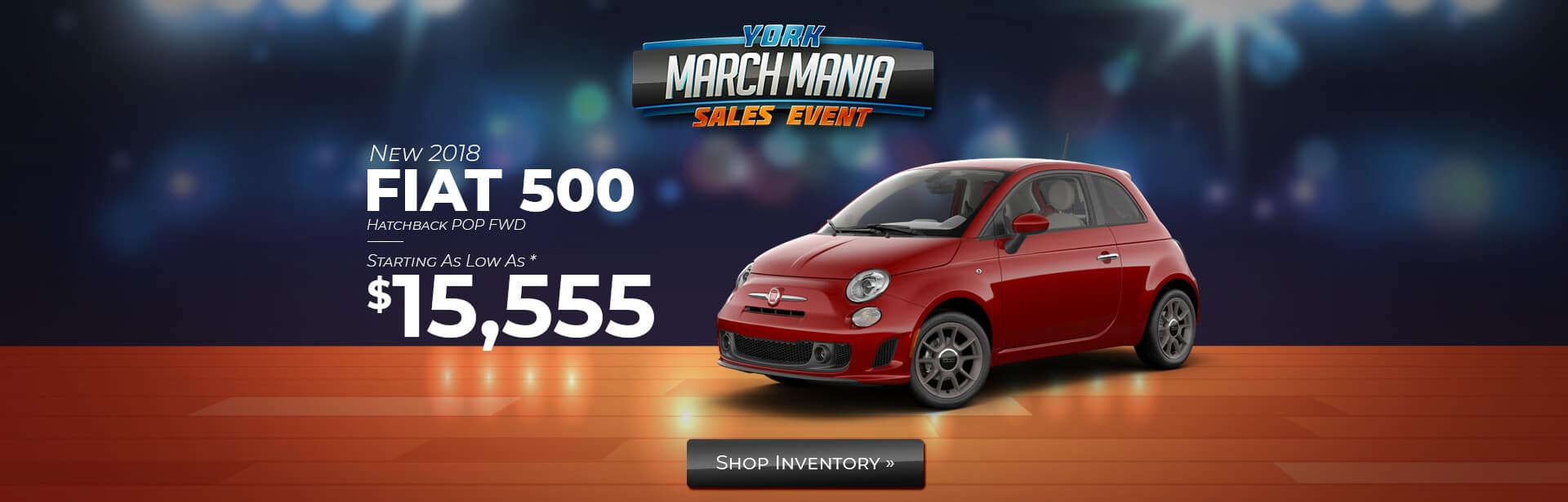 Indiana FIAT 500 POP dealer.