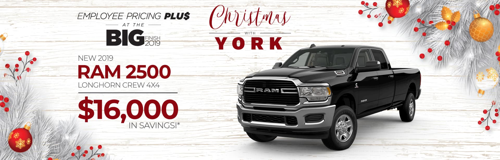 Rebate Special on a New Ram 2500 near Lafayette, Indiana