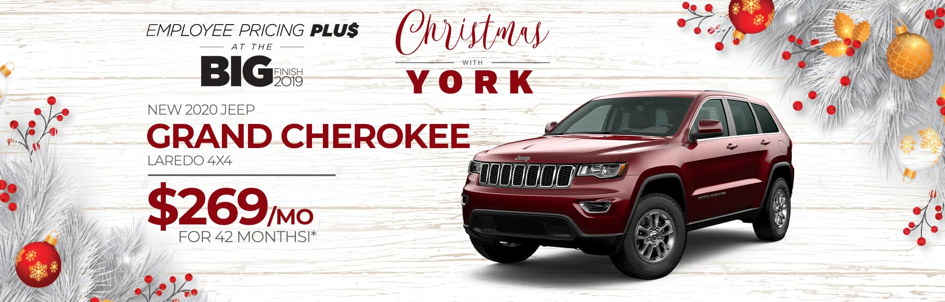 Lease a Jeep Grand Cherokee in Crawfordsville, Indiana