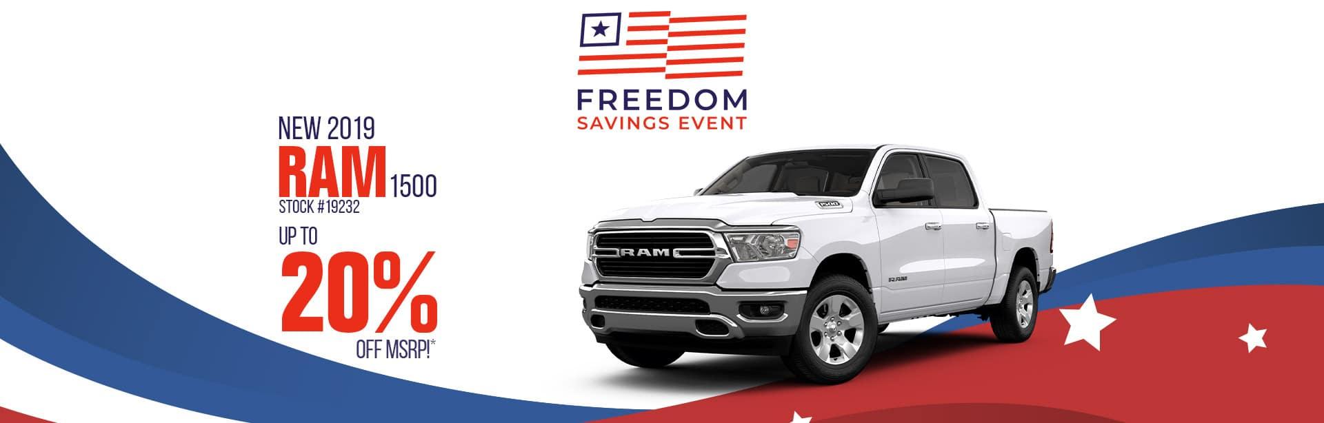 Best Deal on a New Dodge RAM Near Lafayette, Indiana
