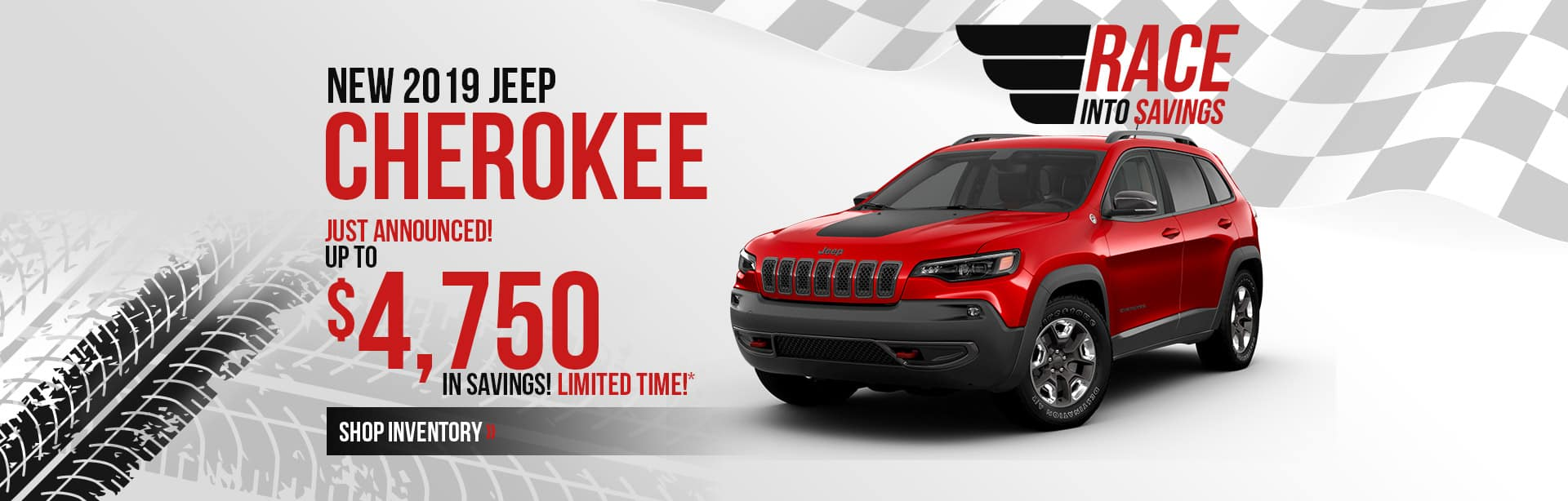 Save more on a 2019 Jeep Cherokee near Lafayette, Indiana.