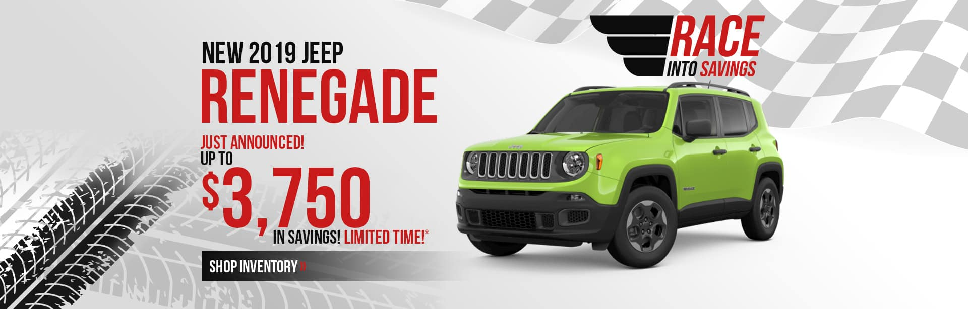 Save more on a 2019 Jeep Renegade near Lafayette, Indiana.
