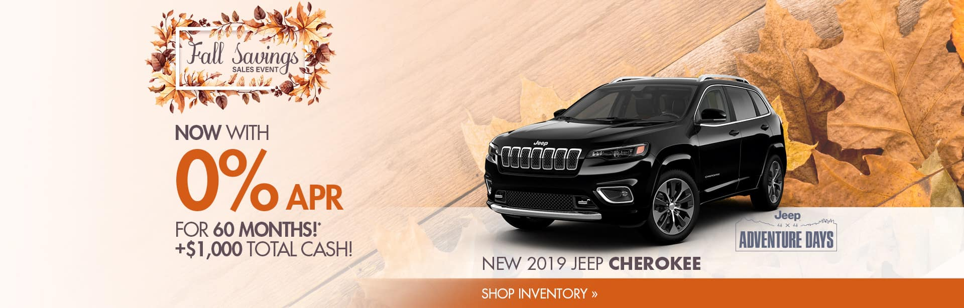 Save on a New Jeep Cherokee in Crawfordsville. Indiana