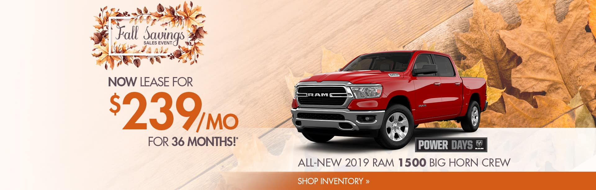 Lease Special on a New Ram 1500 near Lafayette, Indiana