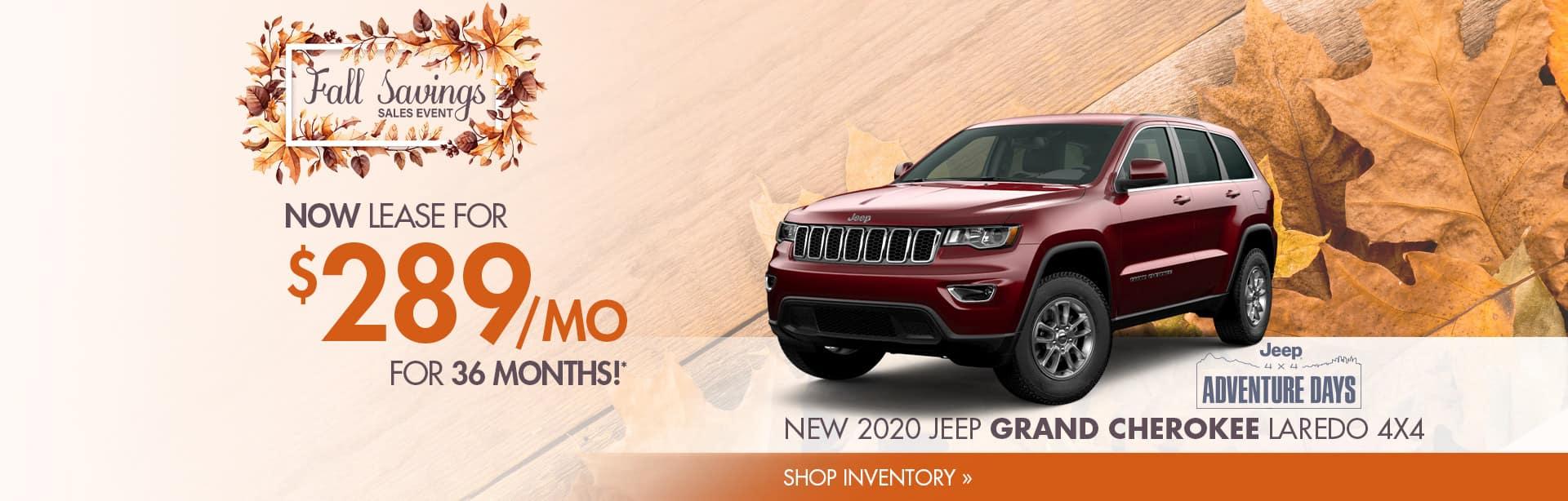 2020 Jeep Grand Cherokee in Crawfordsville, IN.