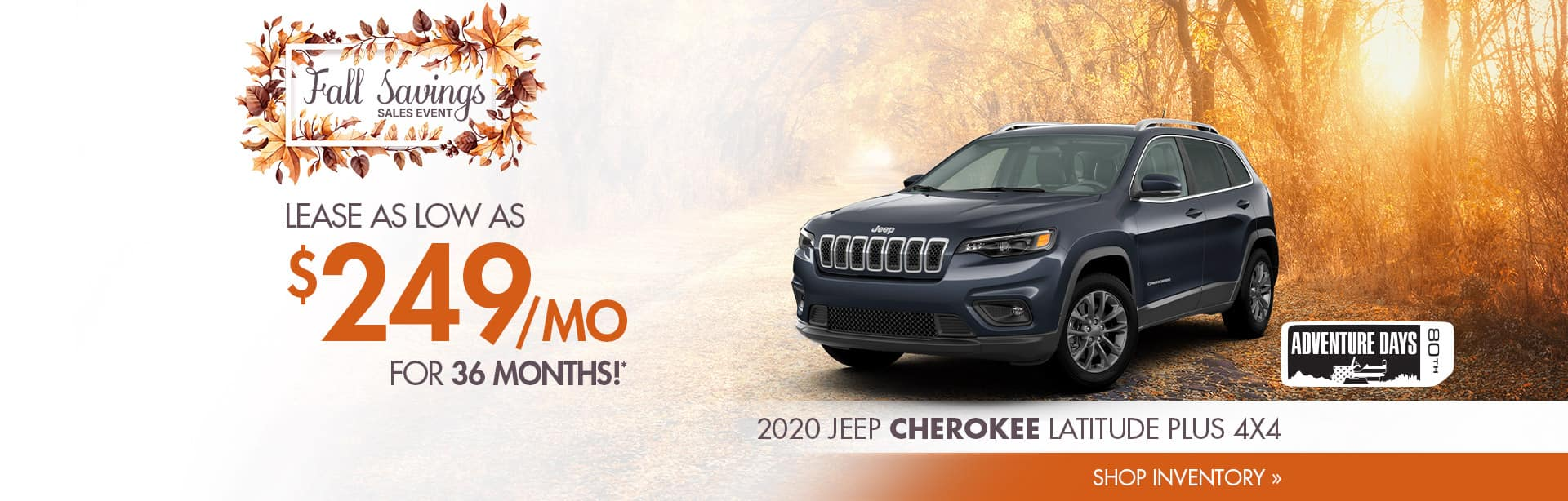 Best deal on a New Jeep Cherokee near Lafayette, Indiana