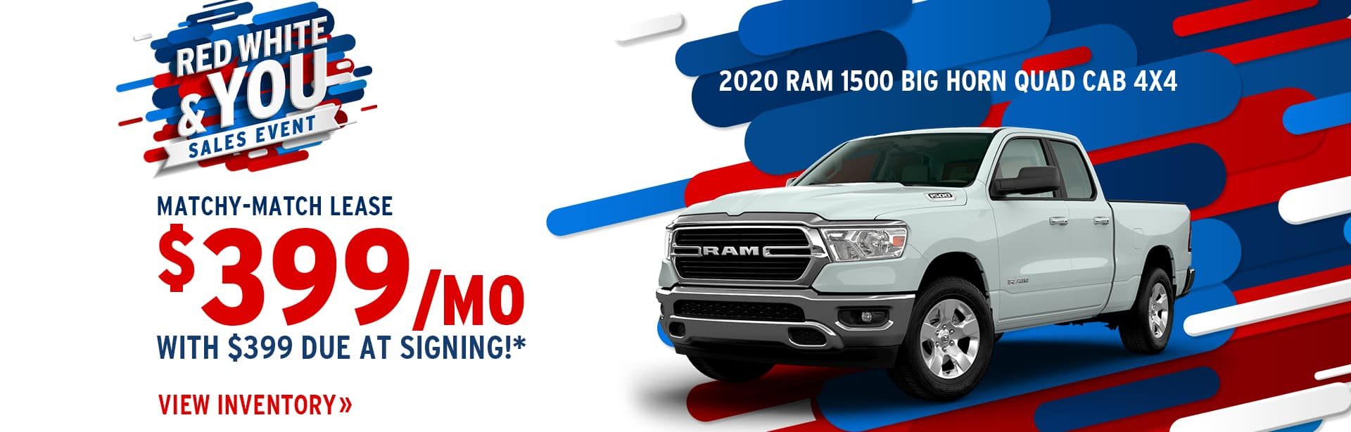 Lease a New 2020 RAM for $399 a month in Crawfordsville, Indiana