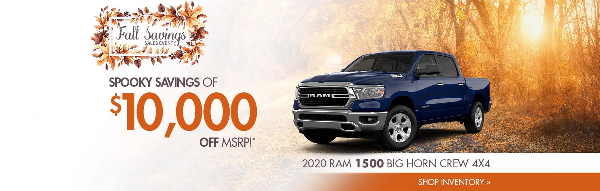 Save on a New 2020 RAM in Crawfordsville, Indiana
