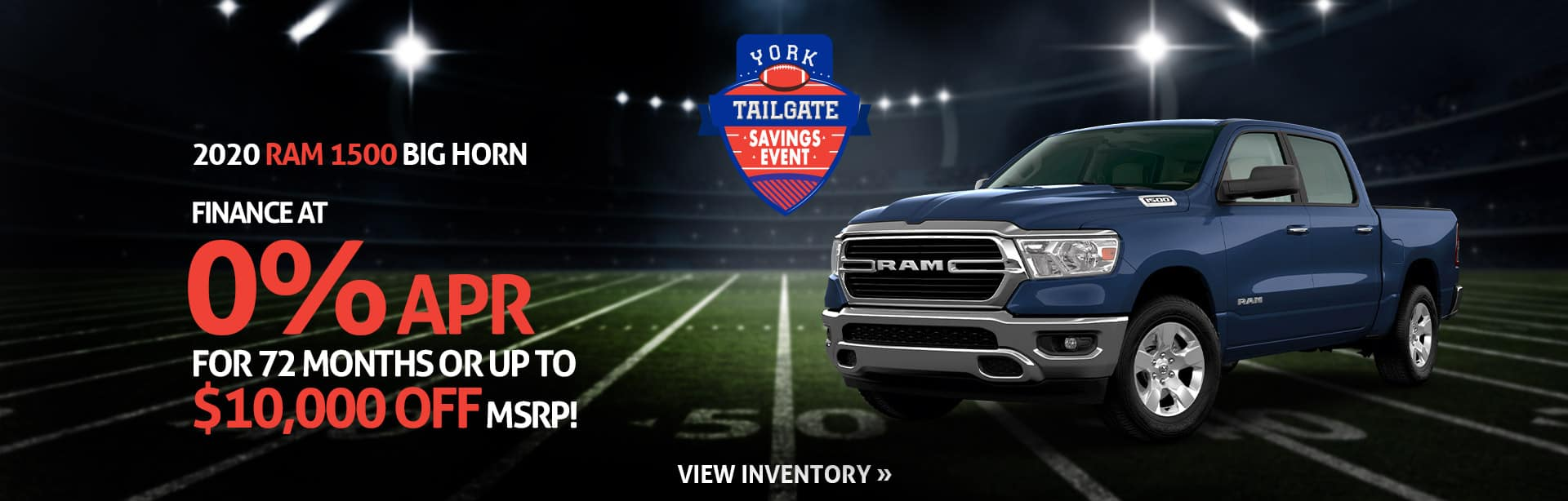 Finance a New 2020 RAM for 0% in Crawfordsville, Indiana