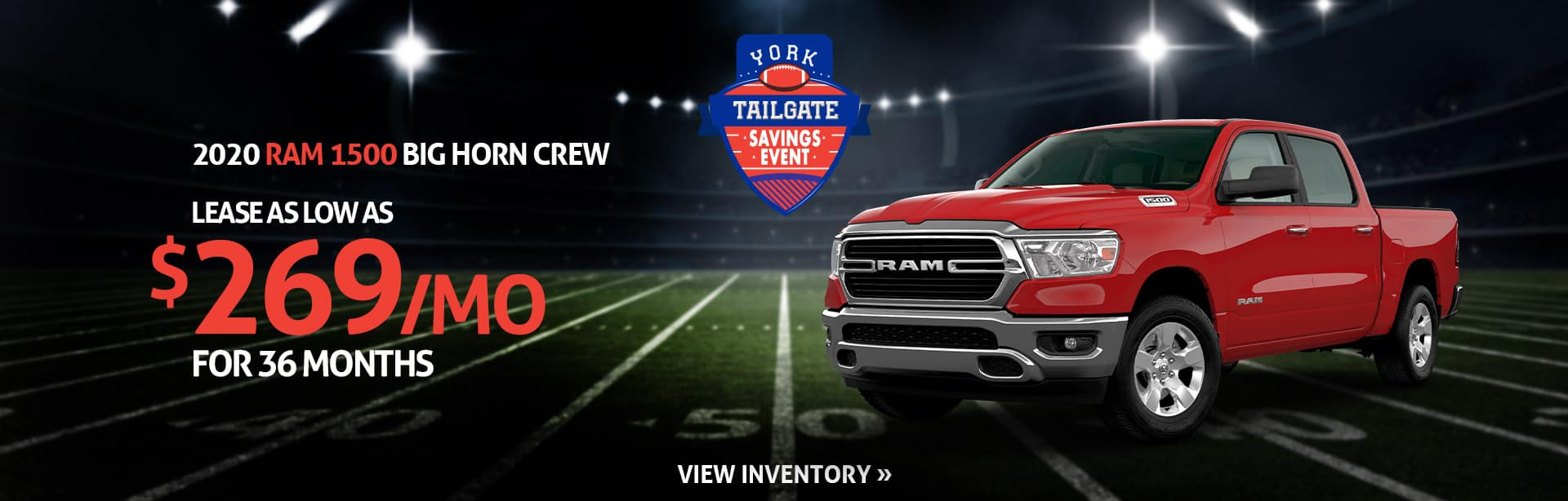 Lease a New 2020 RAM for $299 a month in Crawfordsville, Indiana