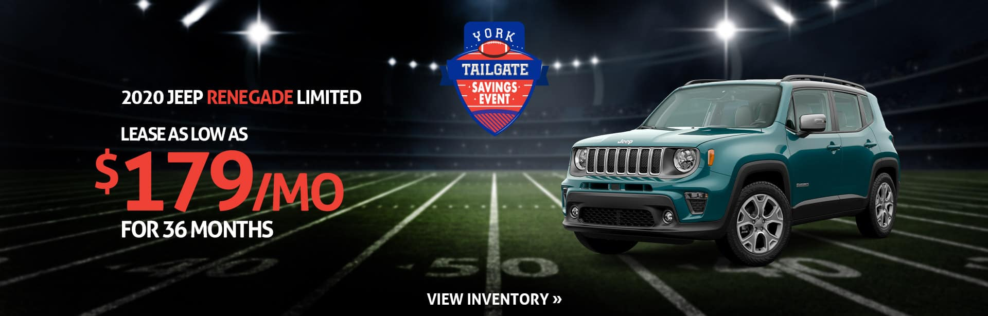 Lease a New Jeep Renegade for $199 a month near Lebanon, Indiana