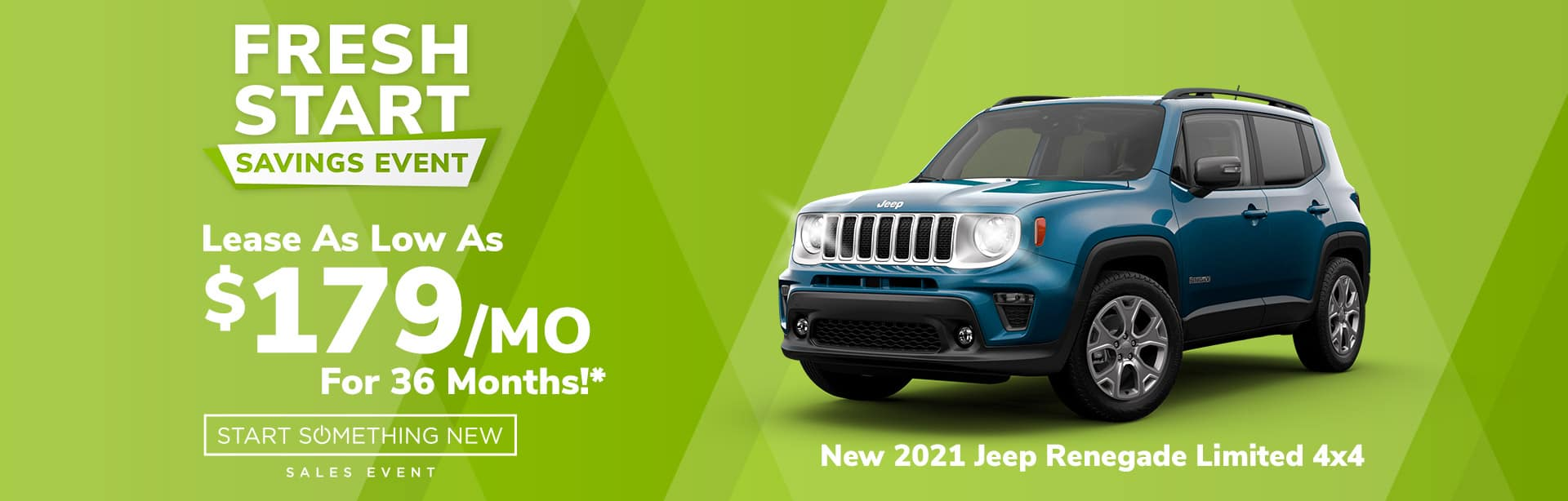Lease a New Jeep Renegade for $179 a month near Lebanon, Indiana