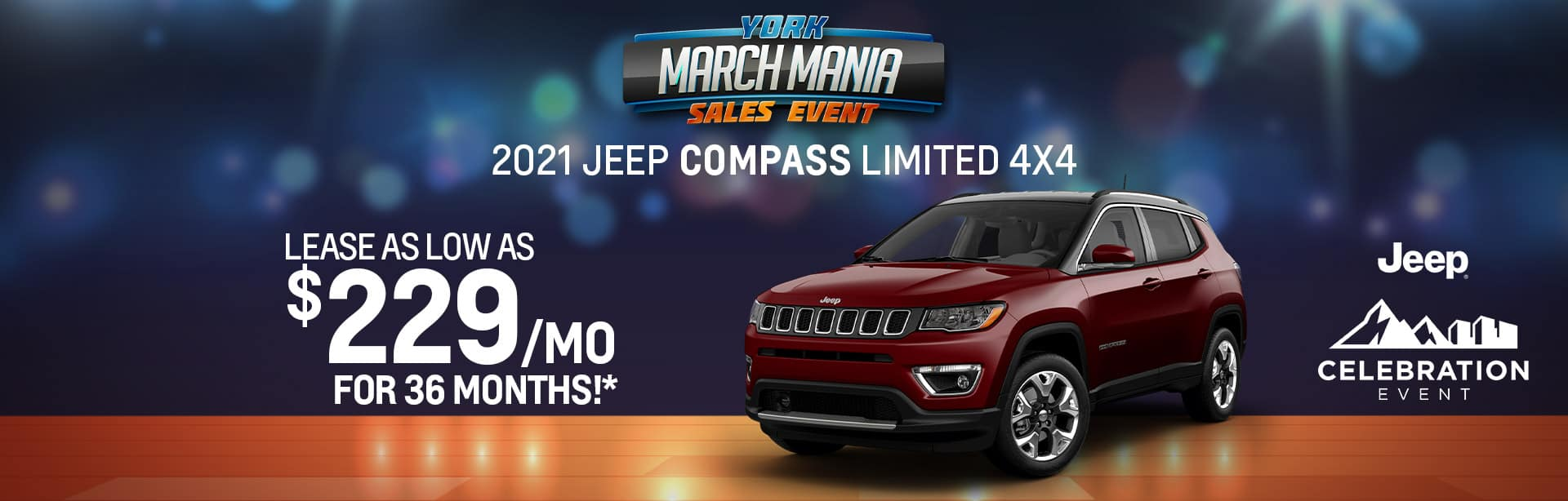 2021 Jeep Compass Lease offer near Indianapolis IN