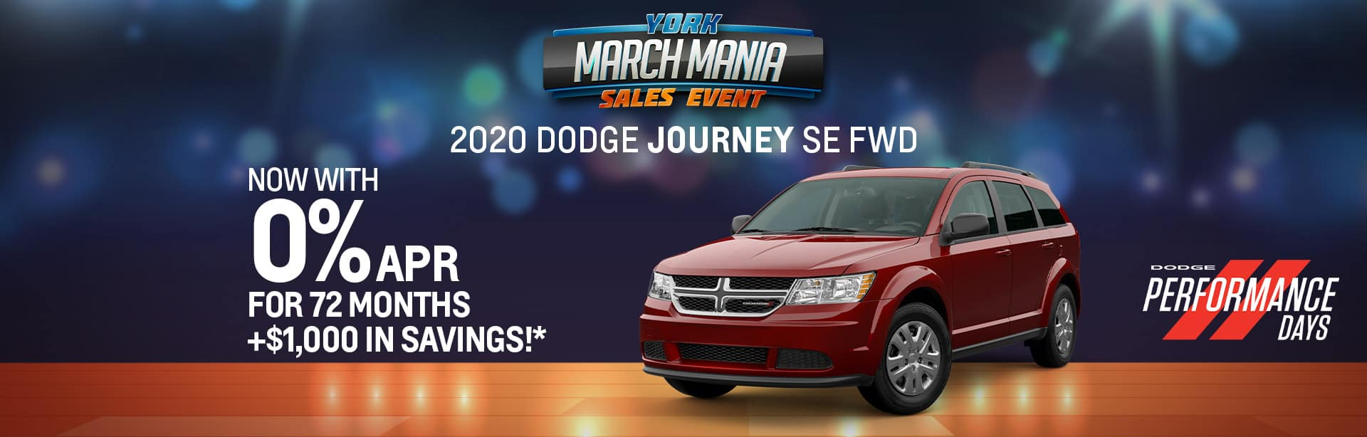 BEST finance offer on a new 2020 Dodge Journey near Indianapolis IN