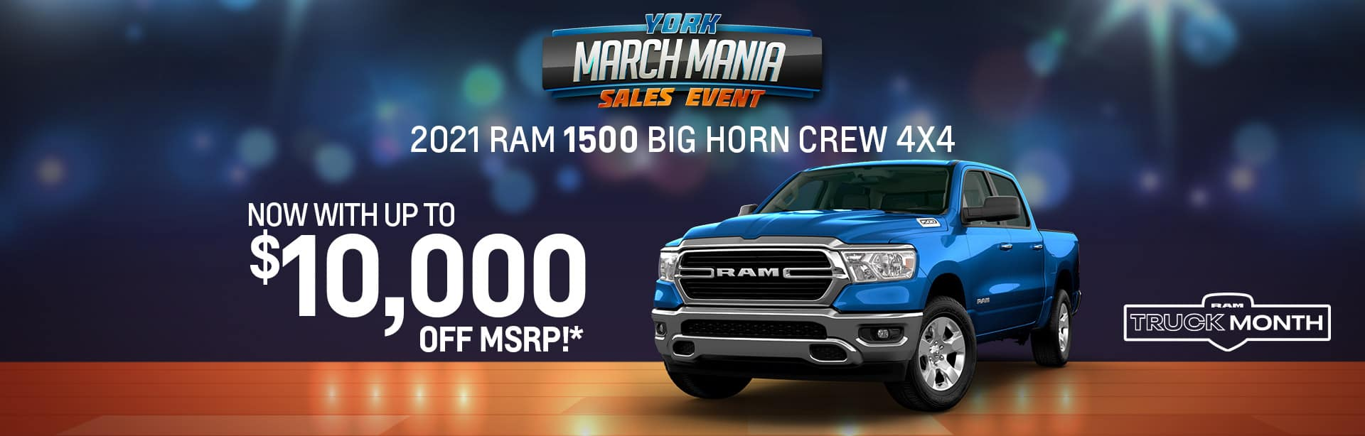 2021 RAM 1500 Big Horn Rebate offer offer near Indianapolis IN